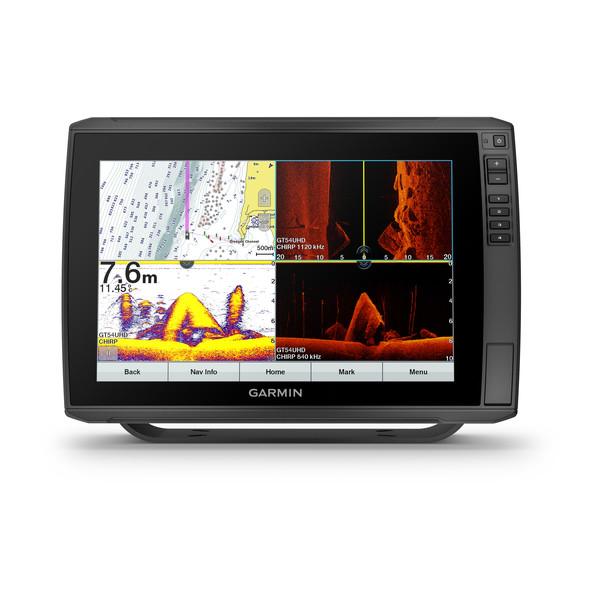 Картплоттер/эхолот Garmin ECHOMAP Ultra 122sv с трансдьюсером GT54UHD-TM