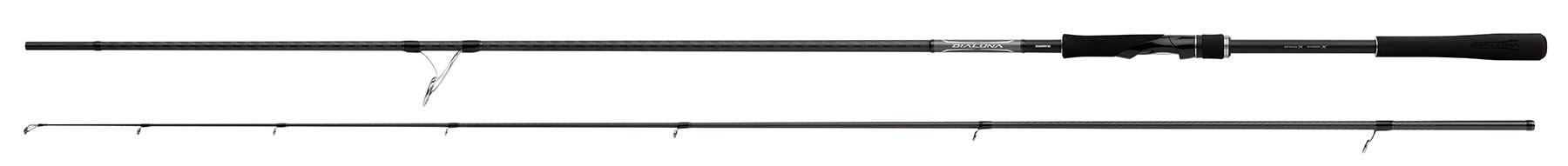 Удилище SHIMANO Dialuna S96M (+ Леска в подарок!) удилище спиннинговое shimano diaflash bx 7 0 ul леска в подарок