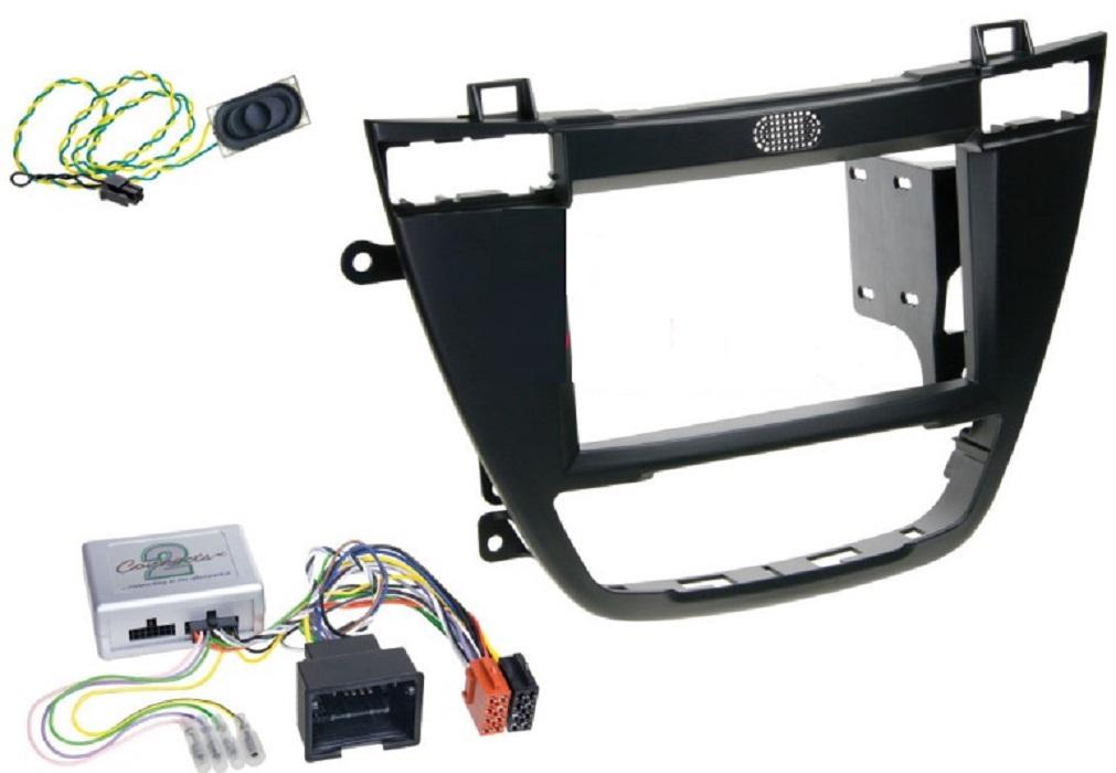 Рамка для OPEL Insignia (2008+) 1din black (+адаптер руля) Intro ROP-N10BL