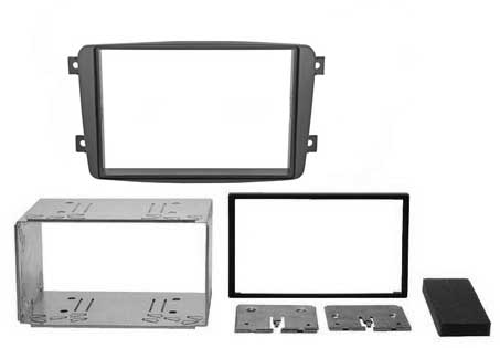 Переходная рамка Intro RMB-C00S для Mercedes C-klass (W203) 00-04, Viano 03-06, Vito до 06, CLK 2DIN (салазки)