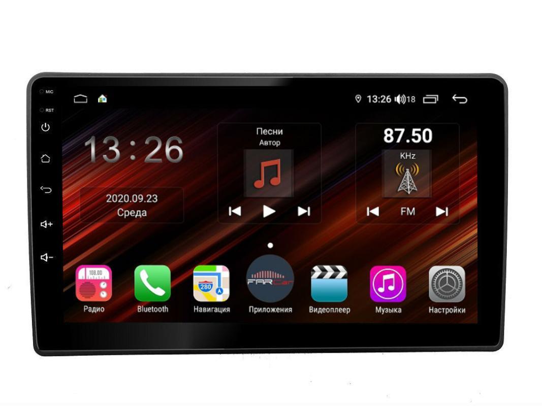 Штатная магнитола FarCar s400 Super HD для KIA Sorento на Android (XH224R) (+ Камера заднего вида в подарок!)