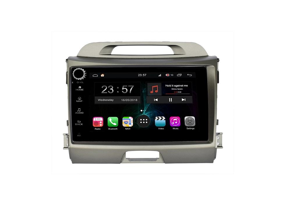 Штатная магнитола FarCar s300-SIM 4G для KIA Sportage на Android (RG537RB) (+ Камера заднего вида в подарок!)