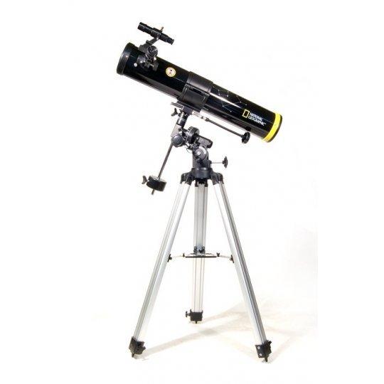Телескоп Bresser National Geographic 76/700 EQ (+ Книга «Космос. Непустая пустота» в подарок!)