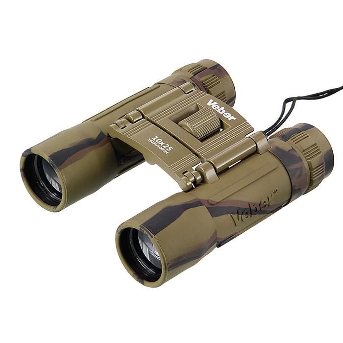 Бинокль Veber Sport БН 10x25, камуфляж (+ Антисептик-спрей для рук в подарок!) 33330