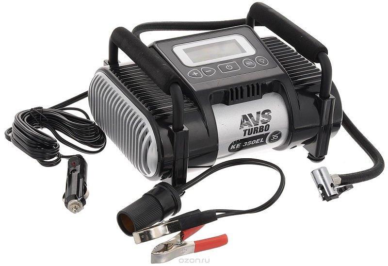 Компрессор автомобильный AVS Turbo KE350EL (+ Мешки для колёс в подарок!) фонарь автомобильный avs cd607a 43211 page 5 page 8