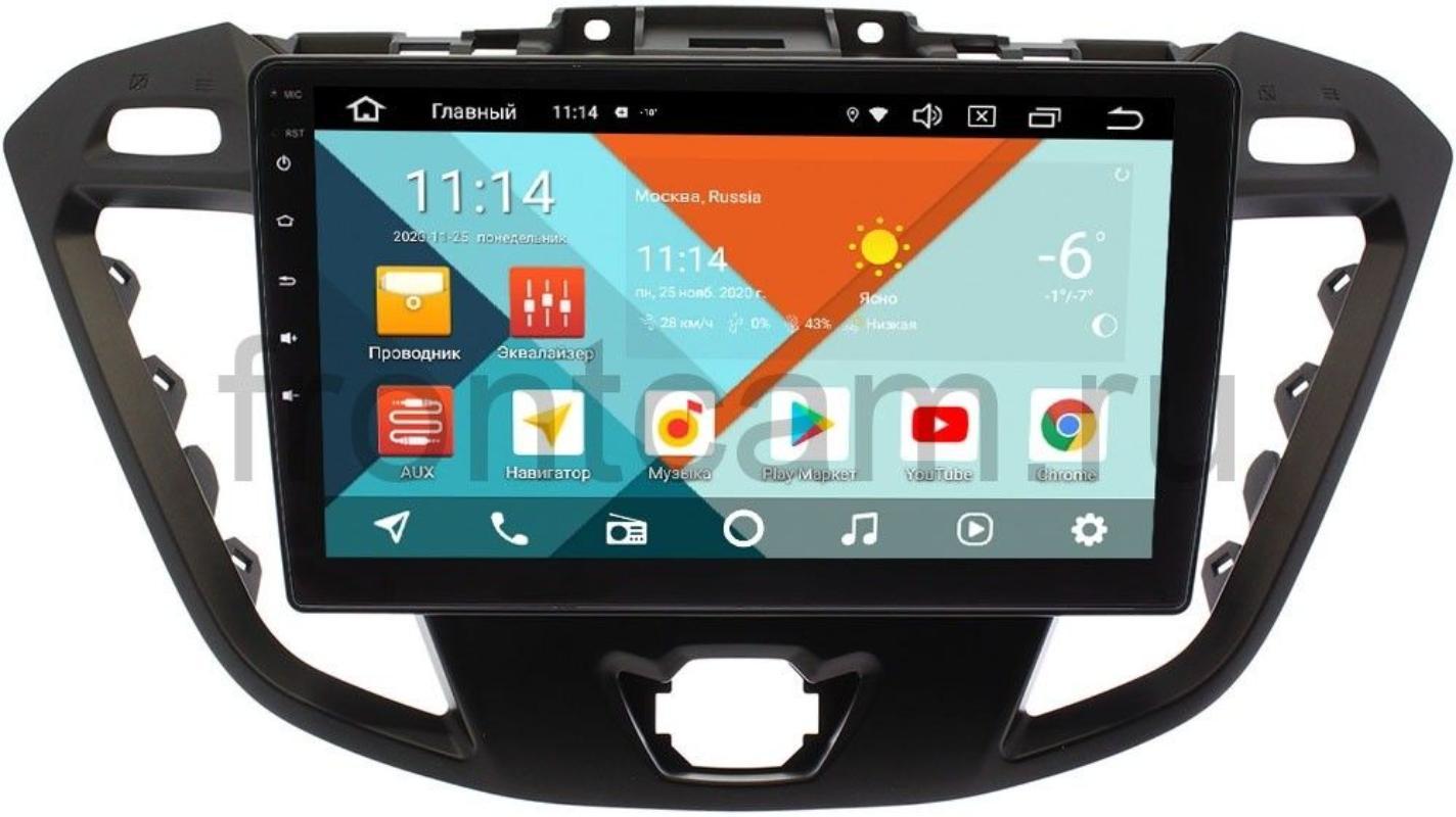 Штатная магнитола Ford Transit, Tourneo Custom 2012-2020 (без CD) Wide Media KS9177QM-2/32 DSP CarPlay 4G-SIM Android 10 (+ Камера заднего вида в подарок!)
