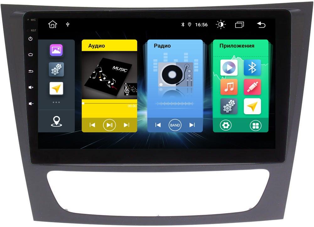 Головное устройство vomi FX399R9-MTK-LTE для Mercedes-Benz W211, CLS W219 (+ Камера заднего вида в подарок!)