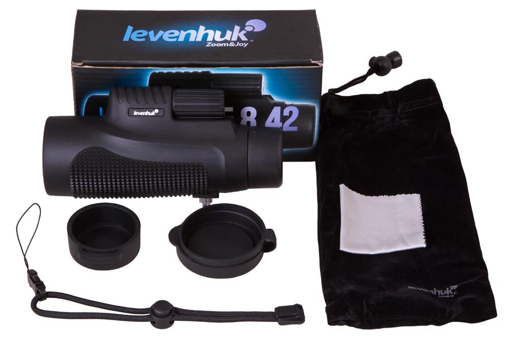 Монокуляр Levenhuk Wise 8x42 (+ Автомобильные коврики для впитывания влаги в подарок!)