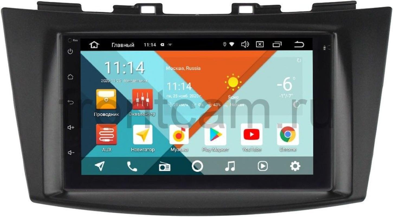 Магнитола для Suzuki Swift IV Wide Media KS7001QR-3/32-RP-SZSW2C-155 на Android 10 (DSP CarPlay 4G-SIM) (+ Камера заднего вида в подарок!)