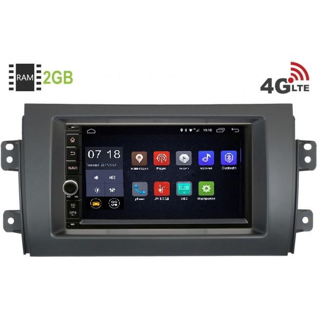 Штатная магнитола LeTrun 1968-RP-SZSX4-44 для Suzuki SX4 I 2006-2014Android 6.0.1 (4G LTE 2GB)LeTrun<br>LeTrun 1968-RP-SZSX4-44 — официальная прошивка на Android 6.0.1 обновляемая по воздуху c 2 Гб оперативной и 16 Гб встроенной памяти под все ваши задачи.