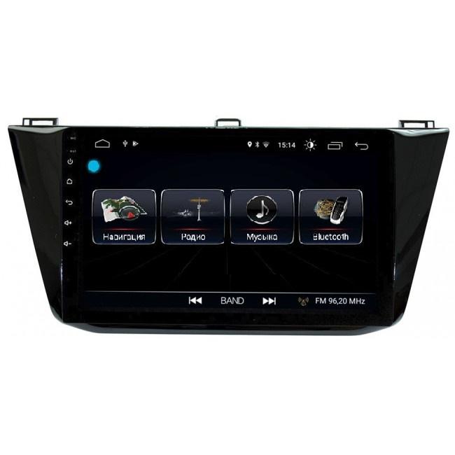 Штатная магнитола LeTrun 1861 для Volkswagen Tiguan 2016-2018 Android 8.0.1 MTK-L 2Gb 7060b 7 inch 12v auto 2 din bluetooth tft screen car audio stereo mp3 mp4 mp5 player support aux fm usb sd mmc