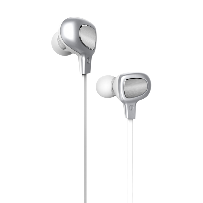 Наушники Baseus B15 Seal Bluetooth Earphone Silver/White (NGB15-02)