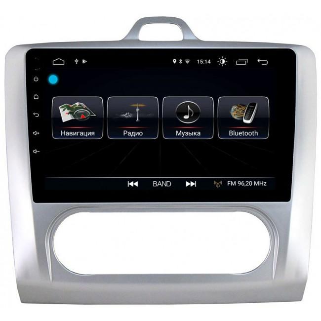 Штатная магнитола LeTrun 1889 для Ford Focus II 2005-2011 (с климатом) Android 8.0.1 MTK-L 2Gb (+ Камера заднего вида в подарок!)