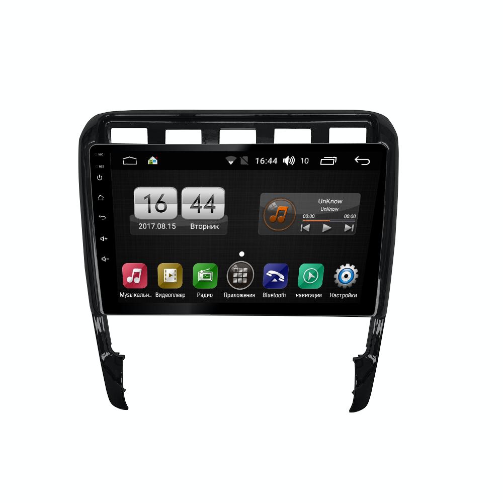 Штатная магнитола FarCar s195 для Porsche Cayenne на Android (LX443R) (+ Камера заднего вида в подарок!)