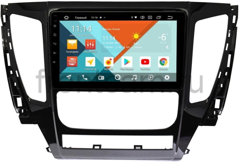 Штатная магнитола Mitsubishi Pajero Sport III Wide Media KS9155QR-3/32 DSP CarPlay 4G-SIM Android 10 (+ Камера заднего вида в подарок!)