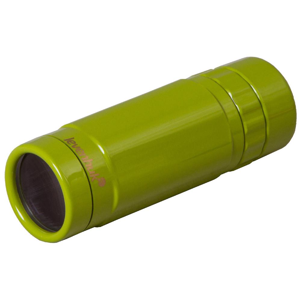 Монокуляр Levenhuk Rainbow 8x25 Lime (+ Автомобильные коврики для впитывания влаги в подарок!)