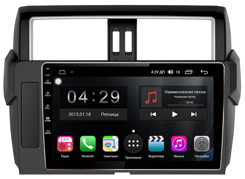 цена на Штатная магнитола FarCar s300-SIM 4G для Toyota Land Cruiser Prado 150 на Android (RG347/531R) (+ Камера заднего вида в подарок!)
