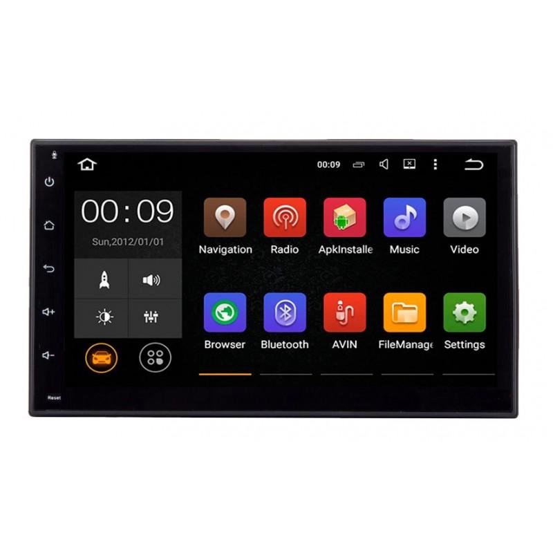 Штатная магнитола Roximo 4G RX-1002 Универсальная 2DIN (Android 6.0) m8 fully loaded xbmc amlogic s802 android tv box quad core 2g 8g mali450 4k 2 4g 5g dual wifi pre installed apk add ons