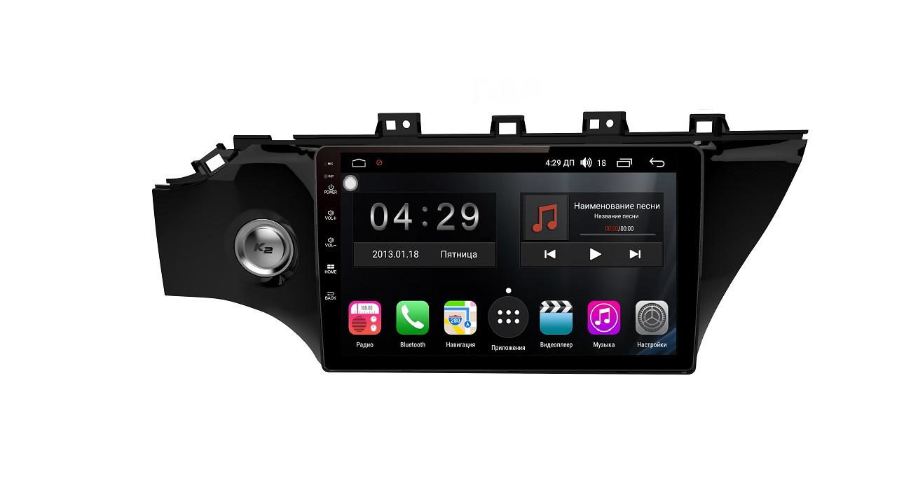 Штатная магнитола FarCar s300-SIM 4G для KIA Rio 2017+ на Android (RG1160R) (+ Камера заднего вида в подарок!) штатная магнитола farcar s300 sim 4g для volkswagen tiguan 2011 2017 на android rg489r камера заднего вида в подарок