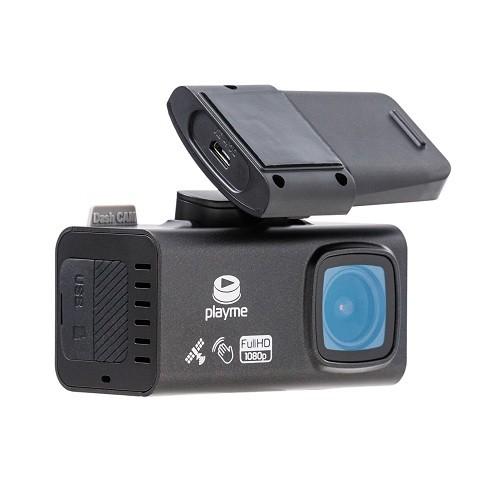 Видеорегистратор Playme Tio (+ Карта памяти microSD на 32 ГБ в подарок!) видеорегистратор японского производства с full hd съемкой