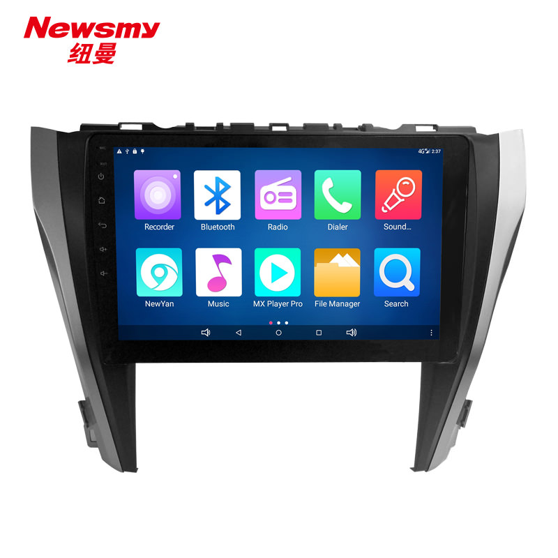 Штатная магнитола CARMEDIA NM-7114 DVD Toyota Camry 11.2014+ (V55) lsqstar 8 android4 0 capacitive screen car dvd player w gps fm bt wifi swc tv aux for toyota prius