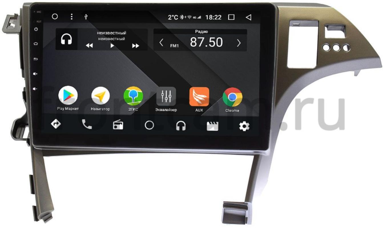 Штатная магнитола Wide Media CF10-780PM-4/64 для Toyota Prius III (XW30) 2009-2015 на Android 9.1 (TS9, DSP, 4G SIM, 4/64GB) (+ Камера заднего вида в подарок!)