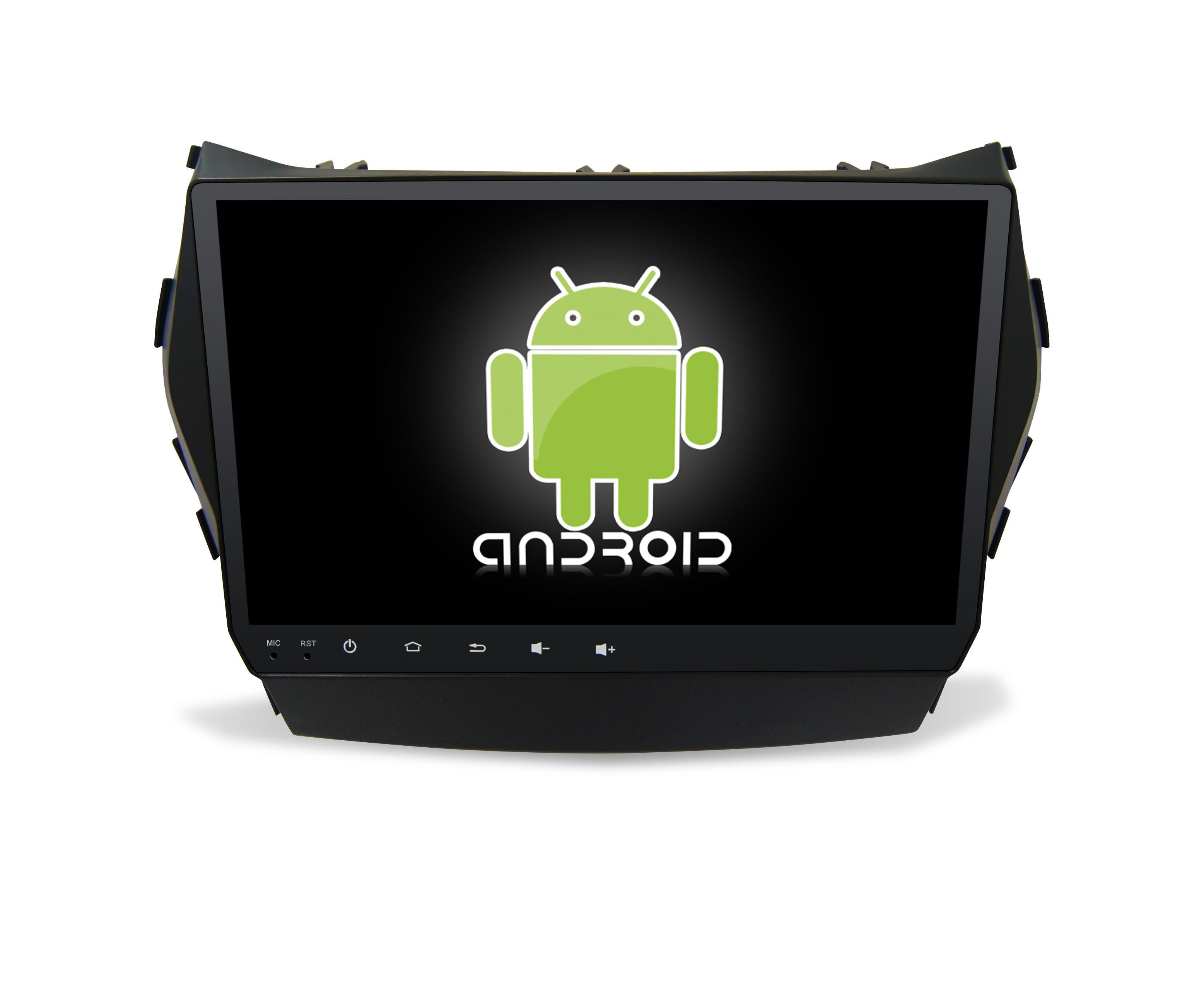 Штатная магнитола CARMEDIA KR-9054-T8 Hyundai Santa Fe 2012+ (DM), Grand Santa Fe 2014+ bluboo d1 3g smartphone 5 0 дюймовый android 7 0 mtk6580a quad core 1 3ghz 2gb ram 16gb rom сканер отпечатков пальцев двойные задние камеры