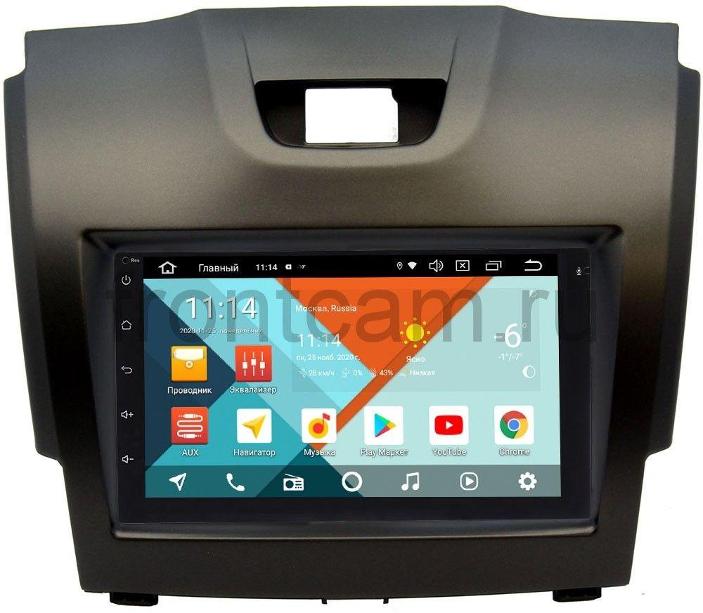 Штатная магнитола Chevrolet Trailblazer II 2012-2016 Wide Media MT7001PK-2/16-RP-CVTB-20 на Android 9.1 (DSP 3G-SIM) (+ Камера заднего вида в подарок!)