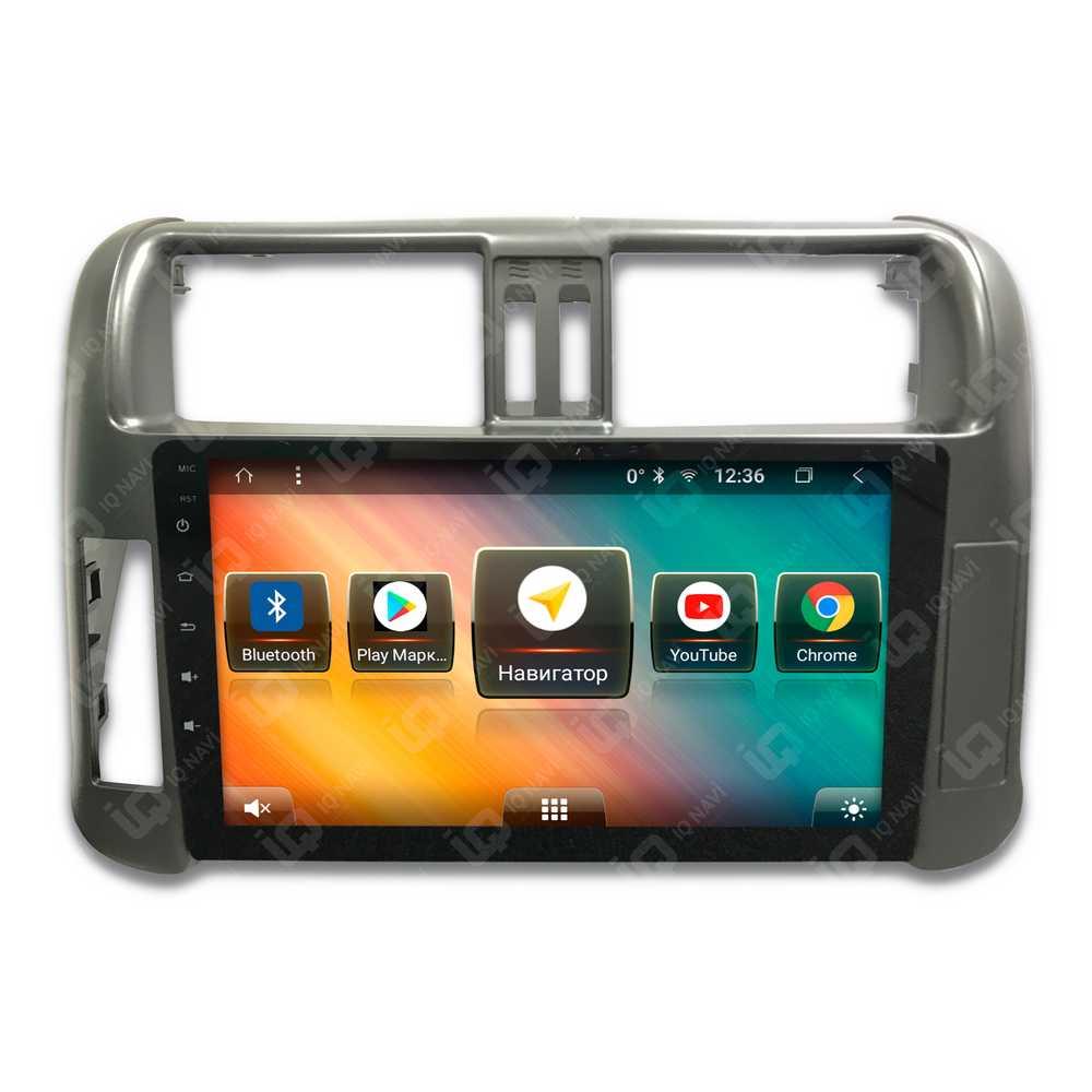 Автомагнитола IQ NAVI TS9-2911PFHD Toyota Land Cruiser Prado 150 (2009-2013) 9 DSP (4 CH) + 4G SIM (+ Камера заднего вида в подарок!)