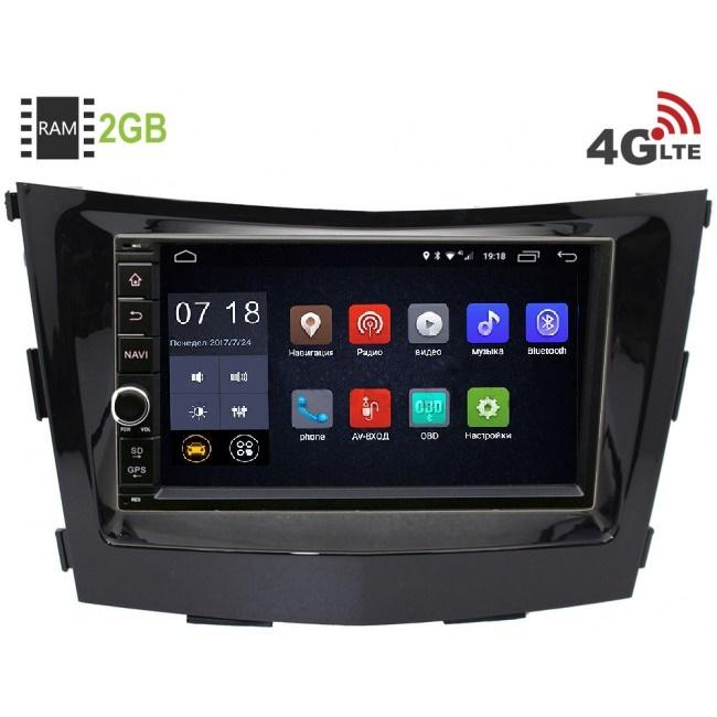 Штатная магнитола LeTrun 1968-RP-SYTV-16 для SsangYong Tivoli, XLV 2015-2018 Android 6.0.1 (4G LTE 2GB)