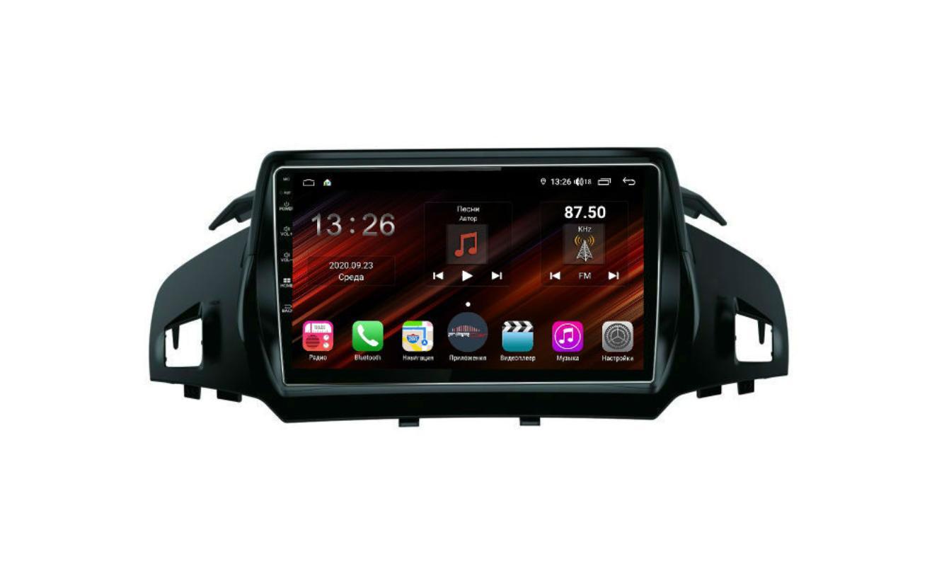 Штатная магнитола FarCar s400 Super HD для Ford Kuga на Android (XH362R) (+ Камера заднего вида в подарок!)