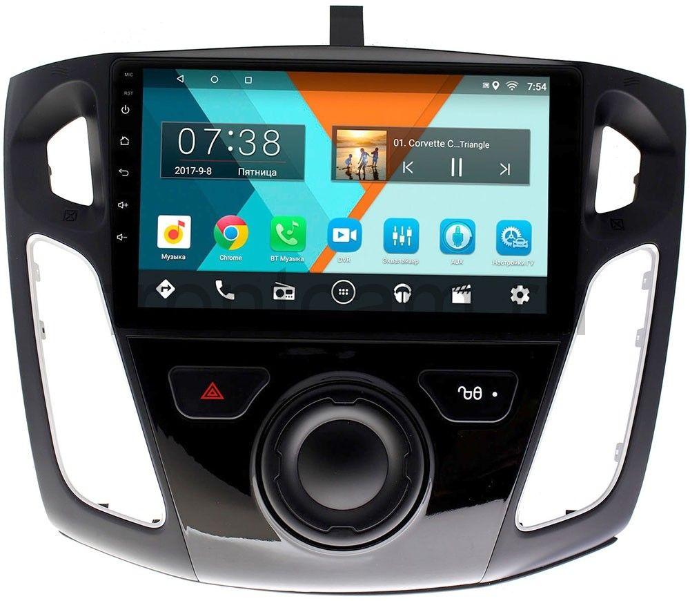 Штатная магнитола Ford Focus III 2011-2015 Wide Media MT9065MF-2/16 на Android 7.1.1 (+ Камера заднего вида в подарок!)