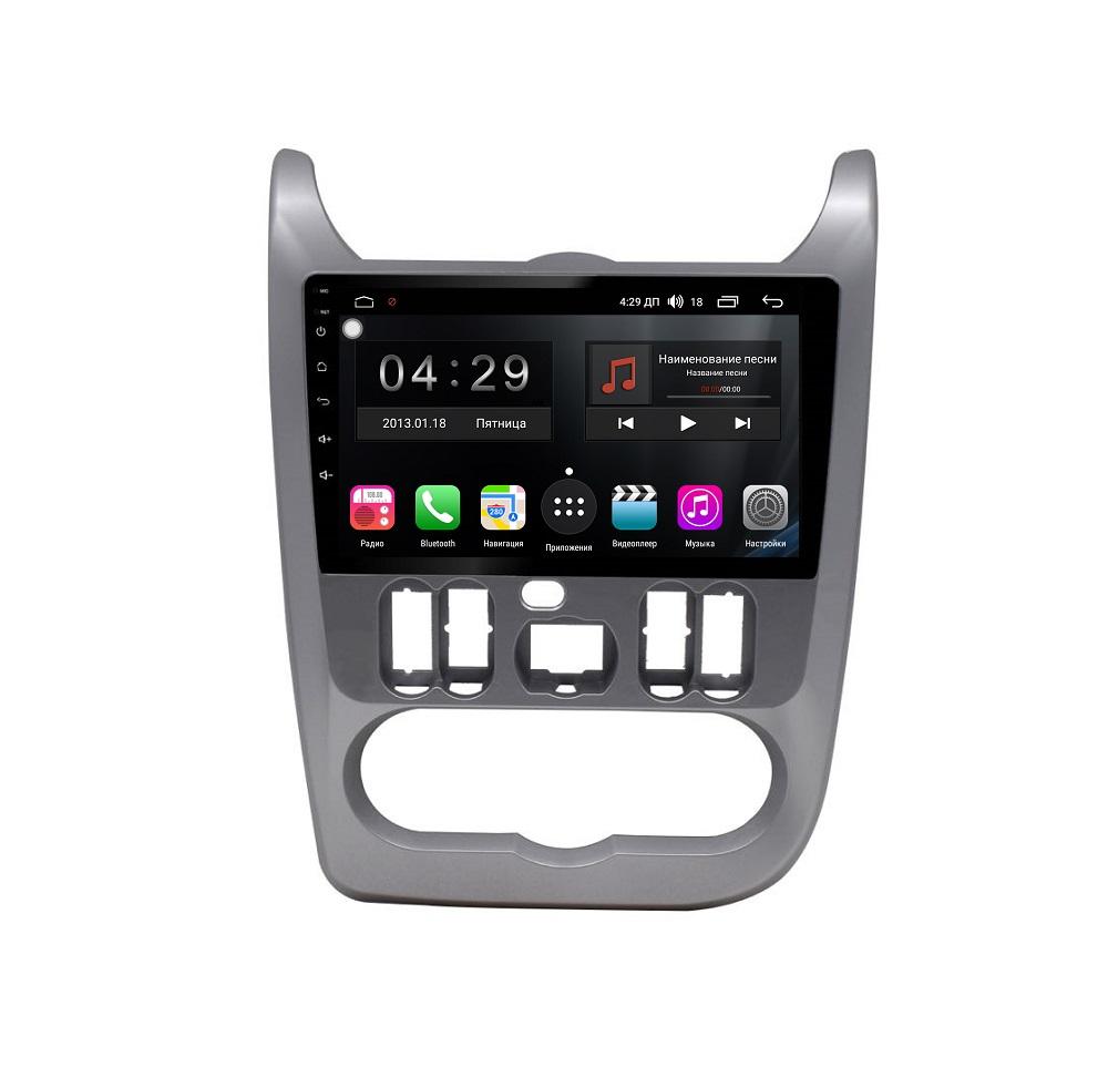 Штатная магнитола FarCar s300 для Renault Logan, Sandero на Android (RL752R) (+ Камера заднего вида в подарок!)