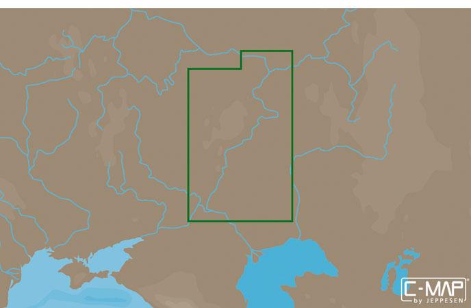 Карта C-MAP RS-N210 - Волга: Чебоксары – Волгоград