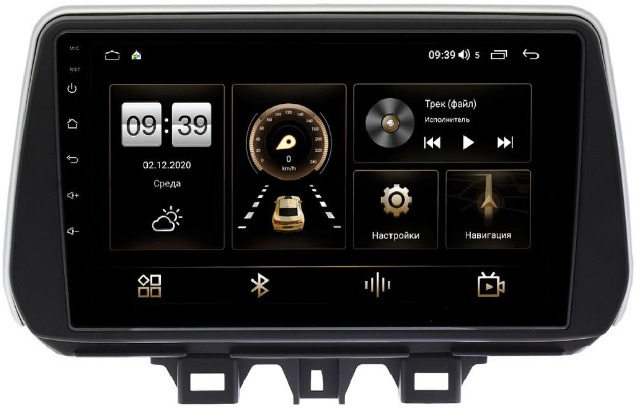 Штатная магнитола LeTrun 4166-9158 для Hyundai Tucson III 2018-2020 на Android 10 (4G-SIM, 3/32, DSP, QLed) (+ Камера заднего вида в подарок!)
