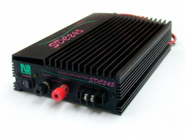 Преобразователь напряжения MANSON SDС-245 (22-28V/13.8V, 40/45A)