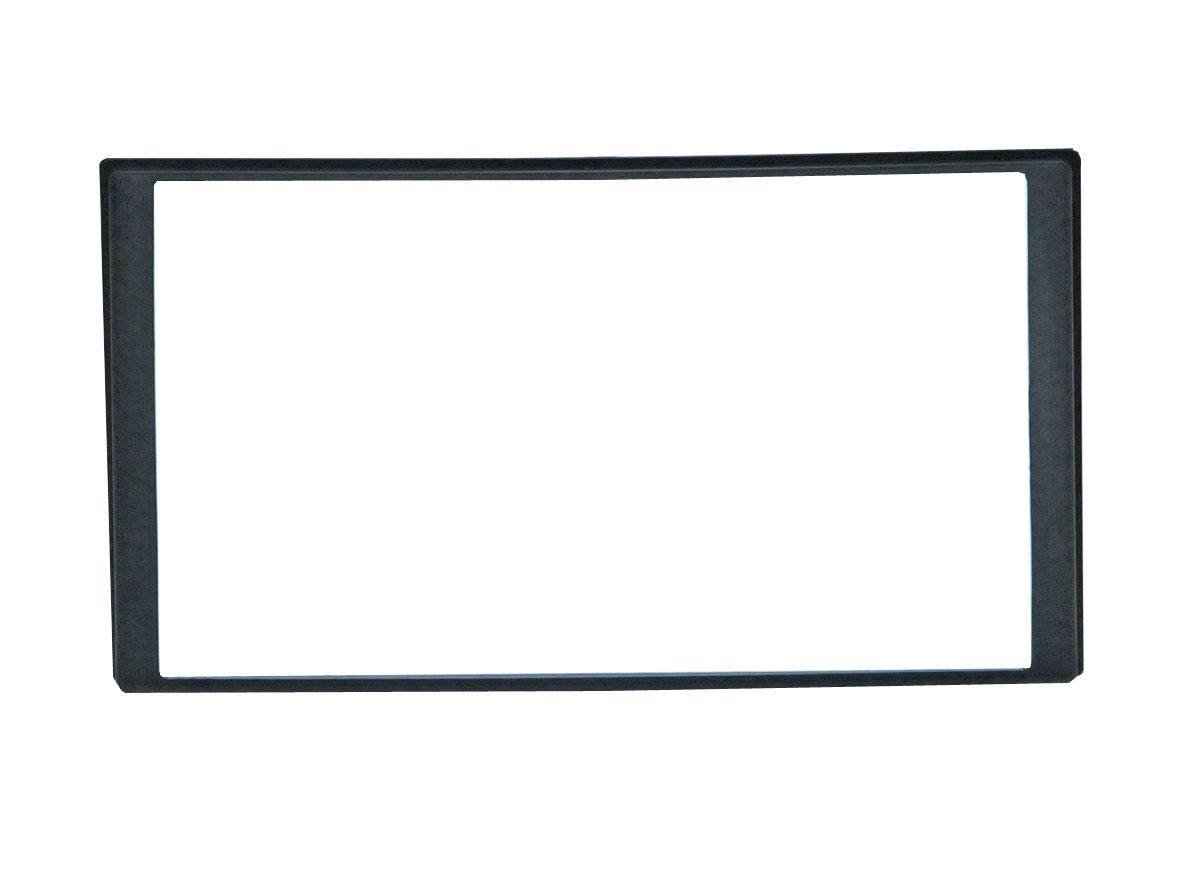 Переходная рамка Incar 95-7324A для KIA Optima-2 Magentis до 2010 2DIN крепеж