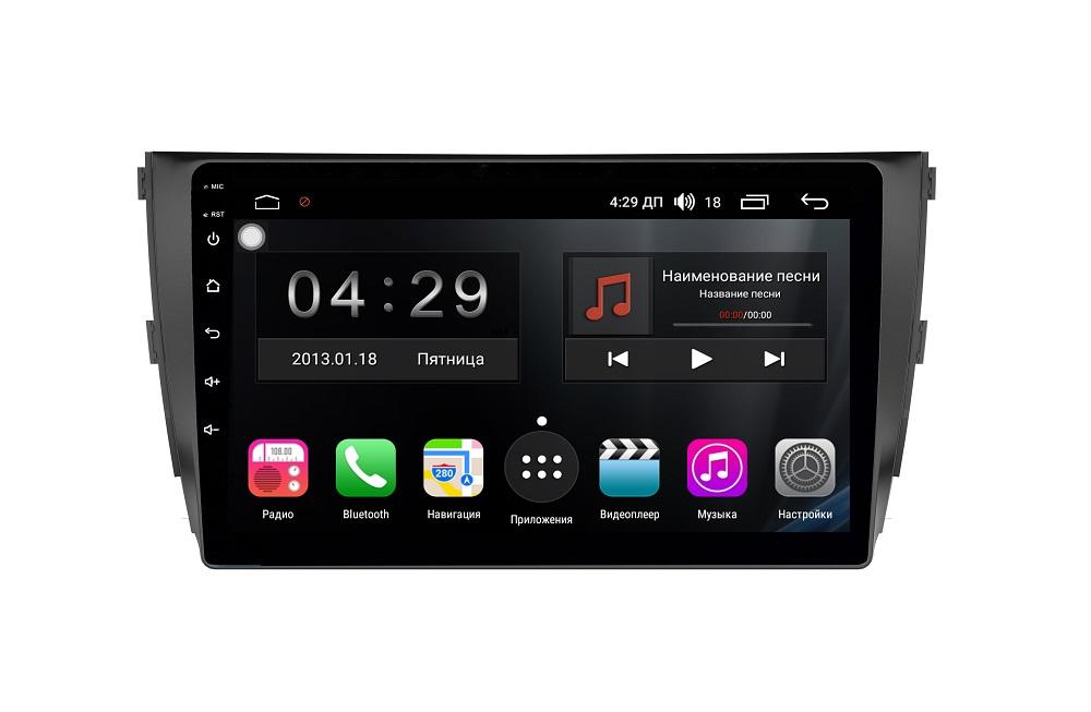 Штатная магнитола FarCar s300 для Zotye на Android (RL1134R) (+ Камера заднего вида в подарок!)