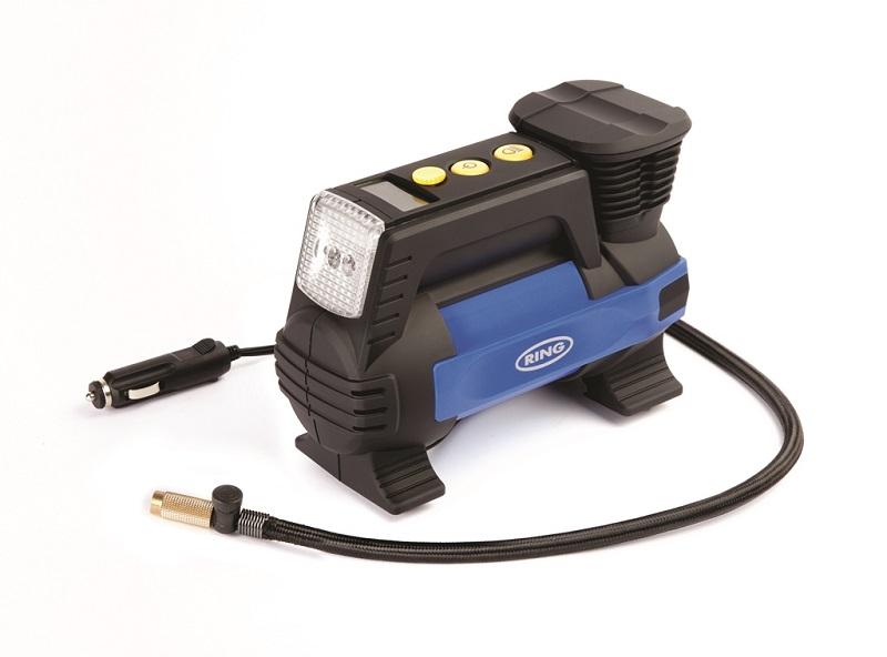 Автомобильный компрессор RING Automotive RAC820 (+ Мешки для колёс в подарок!)
