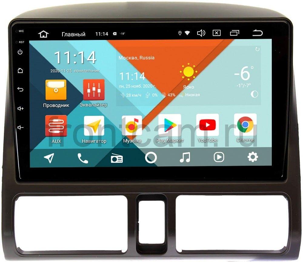 Штатная магнитола Honda CR-V II Wide Media KS9204QR-3/32 DSP CarPlay 4G-SIM Android 10 (+ Камера заднего вида в подарок!)