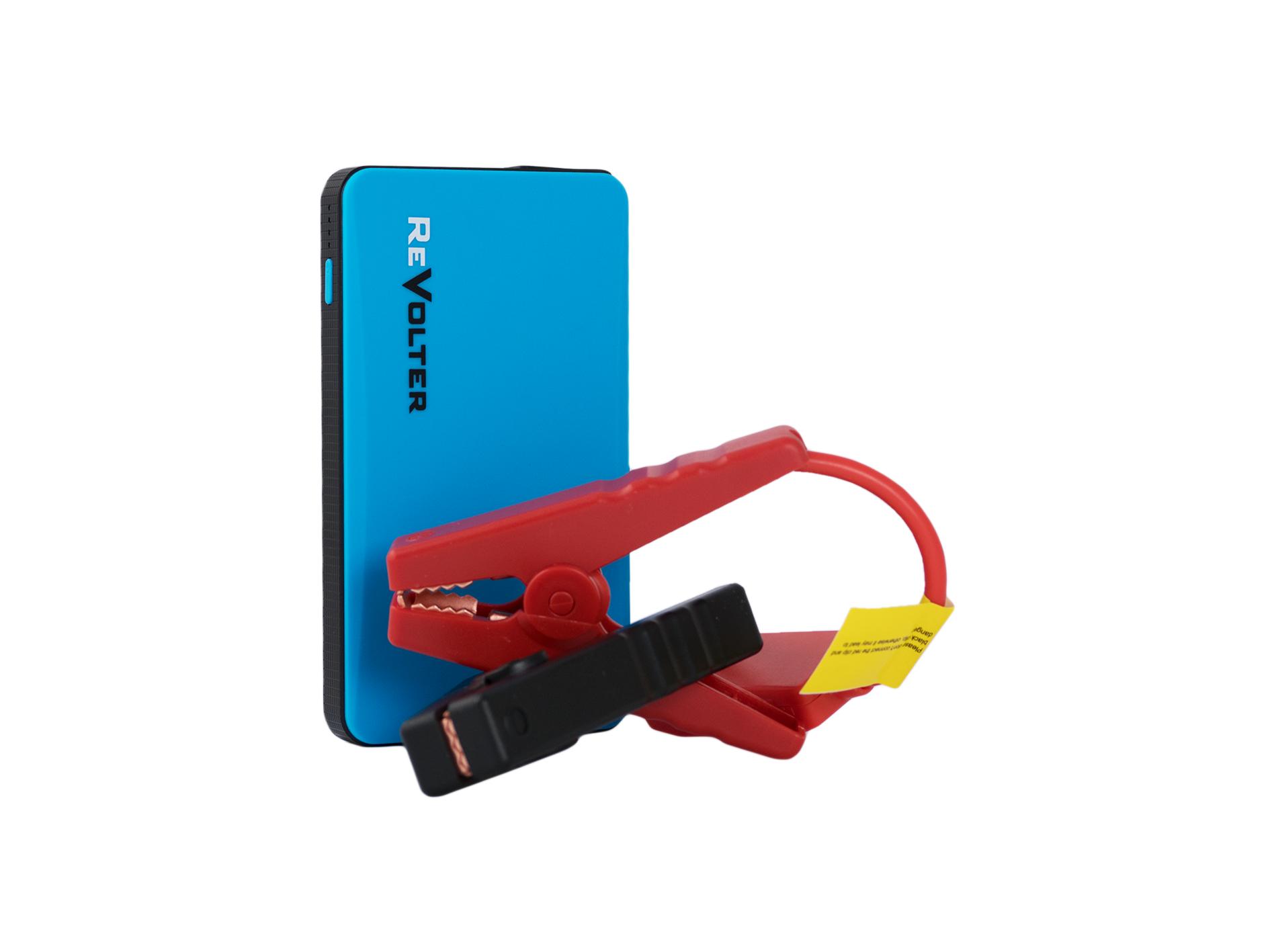 Пуско-зарядное устройство ReVolter Pulsar синий (+ Антисептик-спрей для рук в подарок!)