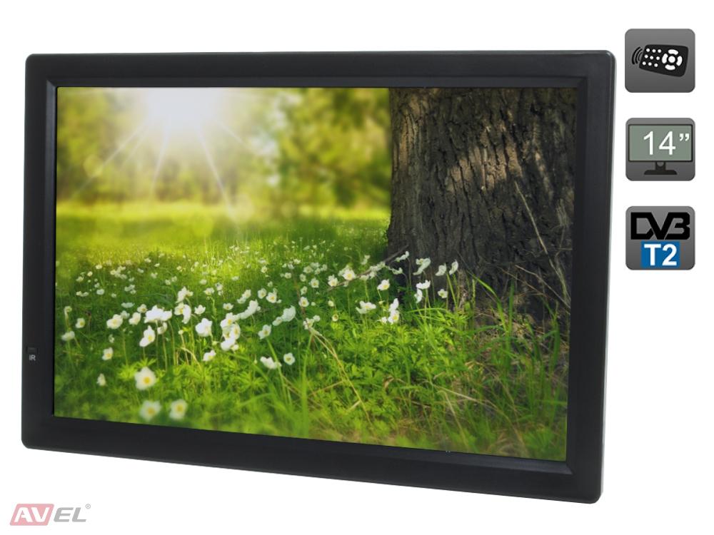Фото - Автомобильный телевизор Eplutus EP-124T (+ Разветвитель в подарок!) телевизор