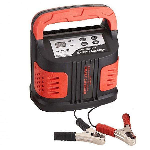Устройство зарядное АКБ SBC-120 (12В, 2/6/12А)Autoprofi<br>Цифровое зарядное устройство для зарядки всех типов 12В кислотно-свинцовых АКБ ёмкостью от 6 до 120 А/ч. <br><br><br> 3 режима работы 2/6/12А. Функция 5-минутной зарядки. Встроенная розетка прикуривателя 12 А!