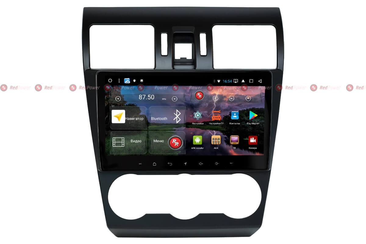Автомагнитола для Subaru XV, Forester RedPower K 51362 R IPS DSP ANDROID 8+ (+ Камера заднего вида в подарок!)