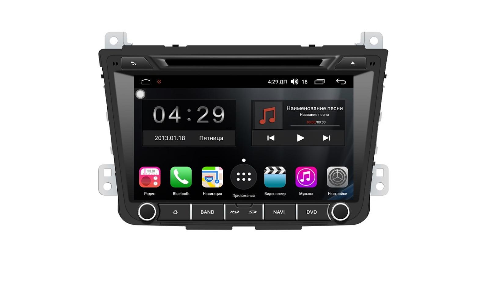 Штатная магнитола FarCar s300 для Hyundai Creta на Android (RL407) (+ Камера заднего вида в подарок!)