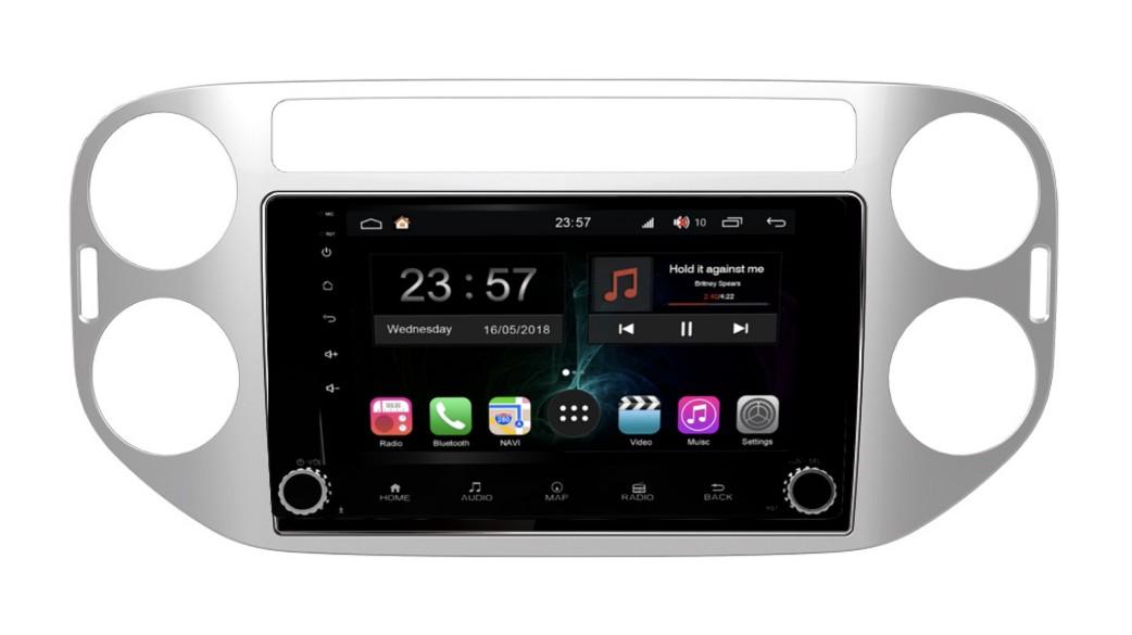 Штатная магнитола FarCar s300-SIM 4G для VW Tiguan на Android (RG489RB) (+ Камера заднего вида в подарок!)