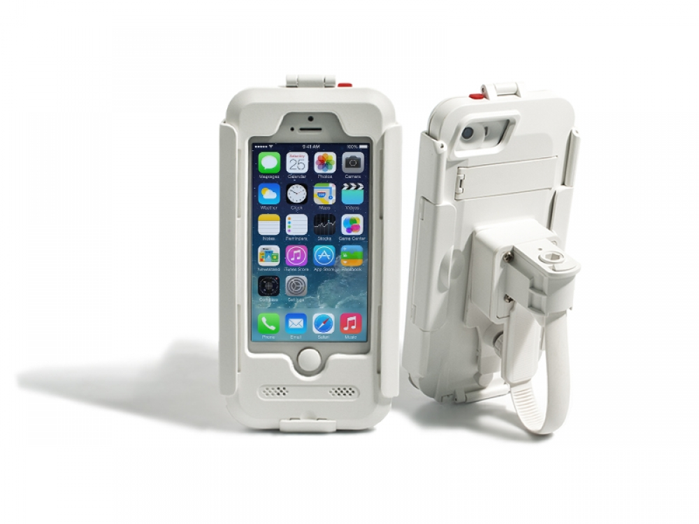Водонепроницаемый чехол DRC5IPHONE (белый) для iPhone 5/5S/SE
