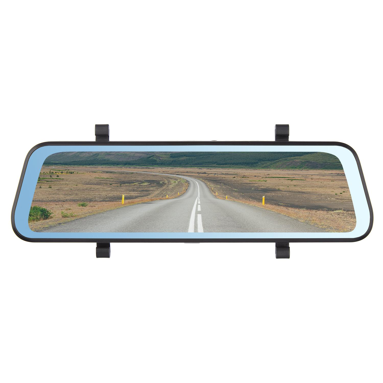 Видеорегистратор в зеркале заднего вида Dunobil Spiegel Lex Duo(2 камеры) (+ Разветвитель в подарок!)