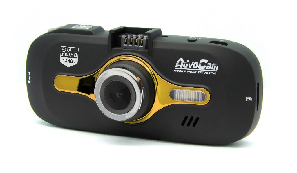 Видеорегистратор AdvoCam-FD8 Gold-II (GPS+ГЛОНАСС) (+ Разветвитель в подарок!)