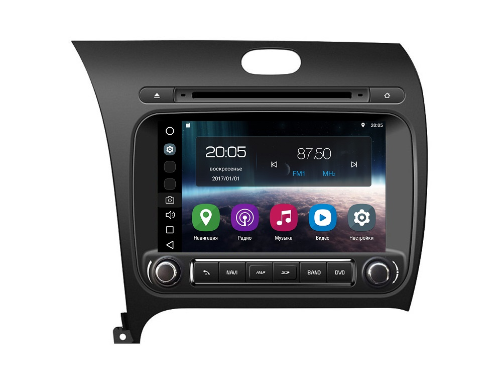 Штатная магнитола FarCar s200 для KIA Cerato на Android (V280)